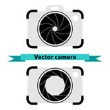 Camera symbol vector Royalty Free Stock Image