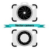Camera symbol vector. Camera symbol, photo icon vector royalty free illustration