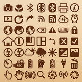 Camera symbols Stock Photos