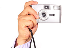 Camera taking photos Stock Photo