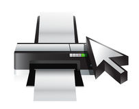 Camera technology cursor Stock Image