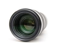Camera telephoto lens Stock Images