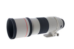 Camera telephoto lens Royalty Free Stock Images