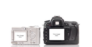 Camera Templates Royalty Free Stock Photography