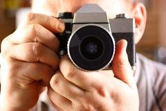 Camera ter beschikking Stock Afbeeldingen