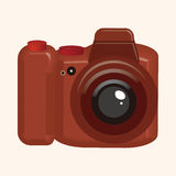 Camera theme elements vector,eps Royalty Free Stock Images