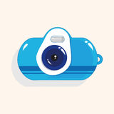 Camera theme elements vector,eps. Vector illustration file Royalty Free Stock Images