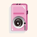 Camera theme elements vector,eps Stock Image