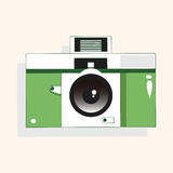 Camera theme elements vector,eps Stock Photo