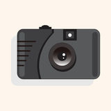 Camera theme elements vector,eps. Vector illustration file Royalty Free Stock Photos