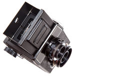 Camera top view Royalty Free Stock Photography