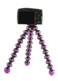Camera on a tripod Royalty Free Stock Photos