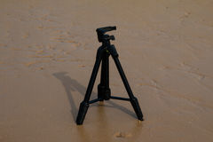 Camera Tripod Royalty Free Stock Photography
