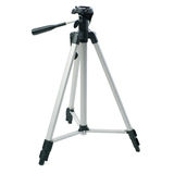 Camera tripod over isolated white background Royalty Free Stock Photography