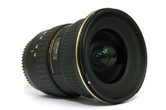 Camera Ultra Wide Angle Lens. Image of a Camera Ultra Wide Angle Lens isolated with white background stock illustration