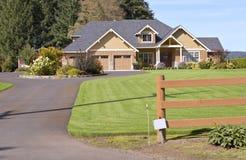 Camera in un sobborgo in Canby Oregon Fotografia Stock Libera da Diritti