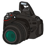 Camera. Vector drawing of photographic camera Stock Photography