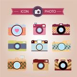 Camera Vector illustration. Stock Images