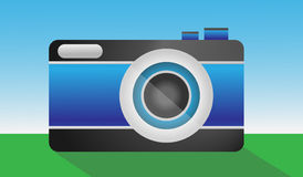 Camera Vector Illustration Stock Photography