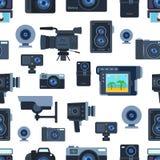 Camera vector illustration Stock Photography