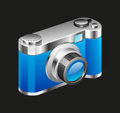 Camera Vector Illustration Royalty Free Stock Images
