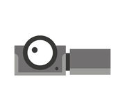 Camera video film isolated icon Royalty Free Stock Photography