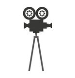 Camera video film isolated icon Stock Photography