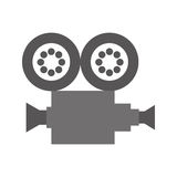 Camera video film isolated icon Stock Photo