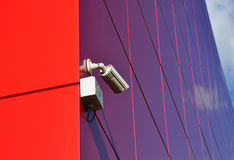 Camera video surveillance. Digital electronics royalty free stock photo