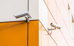 Camera video surveillance Stock Photography
