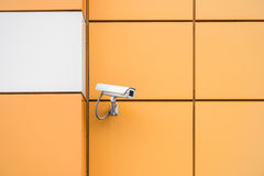 Camera video surveillance Royalty Free Stock Photos