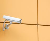 Camera video surveillance Royalty Free Stock Photo