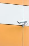 Camera video surveillance Stock Photo