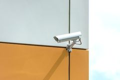 Camera video surveillance Stock Photos