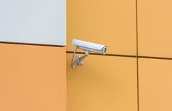 Camera video surveillance Stock Photos