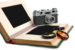 camera vintage Royaltyfria Bilder