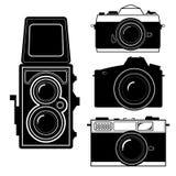 Camera vintage camera vector Royalty Free Stock Photo