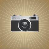Camera Vintage. Photo Camera Vintage. Retro style Royalty Free Stock Photography