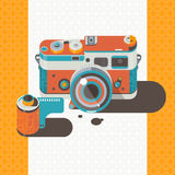 Camera vintage Photography Abstract background. Camera vintage Photography Abstract vector illustration
