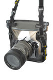 Camera in waterproof case Stock Photography
