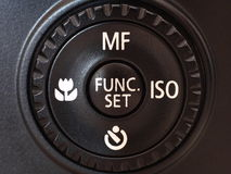 Camera Wheel Control Royalty Free Stock Photography