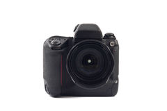 Camera on a white background. Camera isolated on a white background royalty free stock photography