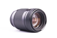 Camera Zoom Lens. A camera Lens. Shot in studio royalty free stock photo