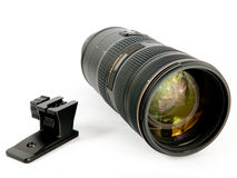 Camera zoom lens 2 Stock Photography
