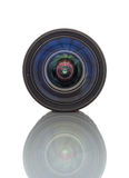Camera zoom lens Royalty Free Stock Images