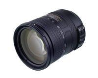 Camera zoom lense. Isolated on white Royalty Free Stock Photography