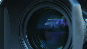 Camera zoom stock video