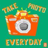 Camerafoto Royalty-vrije Stock Afbeelding