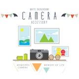Camerageheugen van de vakantie Royalty-vrije Stock Afbeeldingen
