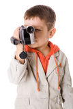 Cameraman royalty-vrije stock fotografie